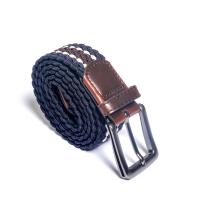 ceinture tresse- bleu/m