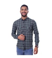 chemise flanelle -vert