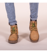 Icshoes+ Boots - SAT - Silver Sport - Jaune Moutarde Réf 207