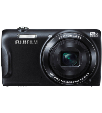 FUJIFILM FUJI DIGITAL CAMERA FINEPIX T550 NOIR 12X ZOOM ,16 MP APNFT550-Noir