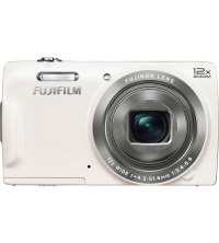 FUJIFILM FUJI DIGITAL CAMERA FINEPIX T550 BLANC 12X ZOOM ,16 MP APNFT550-Blanc