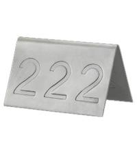 AMS N°DE TABLE INOX (18/10) XA6001