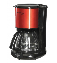 MOULINEX CAFETIERE SUBITO ROUGE 15 Tasses - 1000 Watt