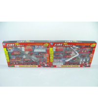 METAL INCENDIE PLAY SET fire engine