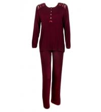 SECRET INTIME pyjama 2 pièces total look viscose et dentelle sd06pl/sd01pt/P