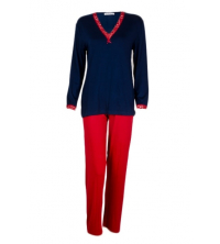SECRET INTIME: SECRET INTIME pyjama 2 pièces viscose sd09pl/sd01pt/M