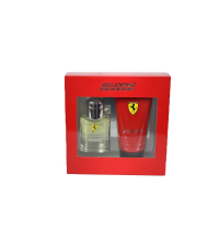 COFFRET FERRARI SCUDERIA RED Eau de Toilette 75 ml + Gel Douche 510100117