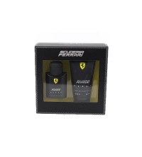 COFFRET FERRARI SCUDERIA BLACK Eau de Toilette 75 ml + Gel Douche 150 ml 510100220