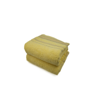 GRAND DRAP EPONGE Jaune POLA-YELLOW 100/150 cm