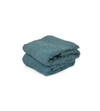 GRAND DRAP EPONGE Bleu SQUARE-BLUE 100/150 cm