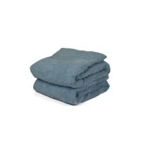 SERVIETTE INVITEE Bleu Moyen SQUARE-MIDBLUE 30/50 cm