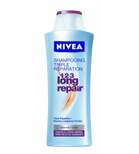 NIVEA Shampooing 1-2-3 Long Repair 250 ML 82179