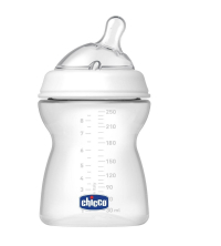 CHICCO NURSERY BIBERON PLASTIC 250ML SIL 70760010040