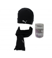 Puma: PUMA FLEECE HAT& SCARF 840252-01