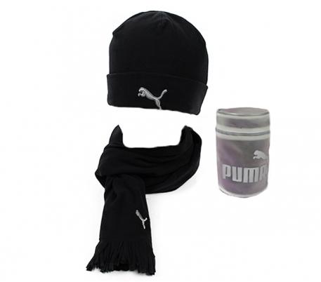 PUMA FLEECE HAT& SCARF 840252-01