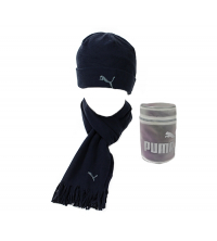 Puma: PUMA FLEECE HAT& SCARF 840252-04