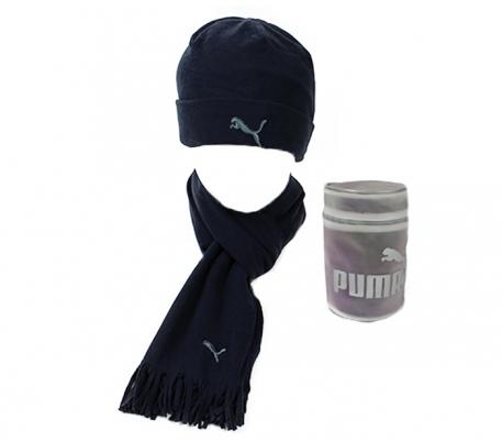 PUMA FLEECE HAT& SCARF 840252-04