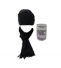 Puma: PUMA FLEECE HAT& SCARF 840252-05