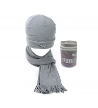 Puma: PUMA FLEECE HAT& SCARF 840252-06