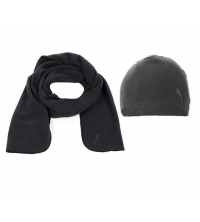 Puma: PUMA ROCC MICROPLAR SCARF & FLEECE AND HAT 840463-01
