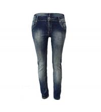 MOZZAAR: MOZZAAR Pantalon Jean Bleu C364