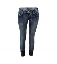 MOZZAAR: MOZZAAR Pantalon Jean Bleu C413