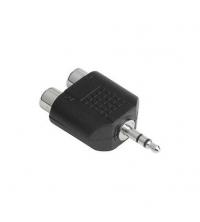 HAMA Adaptateur Jack 3.5 - 2 Sortie RCA 4007249433596
