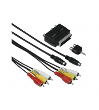 HAMA Kit Universel RCA/JACK/Péritel/S-Video TV 2M 4007249564603
