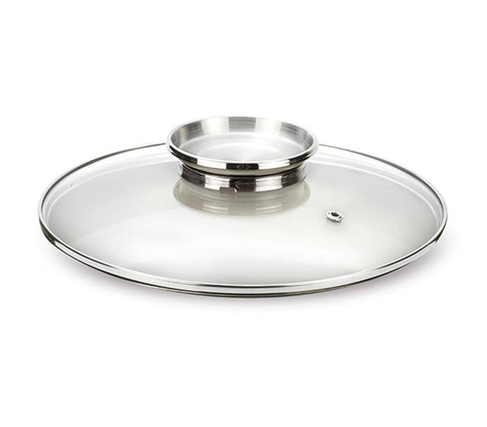 Tunitaly couvercle en verre avec bouton inoxydable pen9368 - Couvercle casserole en verre ...