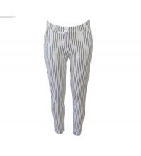 Moda: Moda Pantalon 6009-BLANC