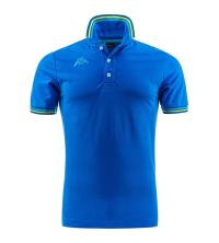 Polo Col Chemise Bleu - KP302MX50-AA8