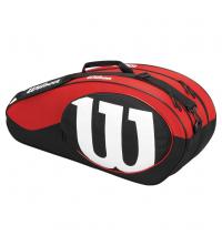 WILSON: WILSON MATCH II 6PK BAG BKRD WRZ820606