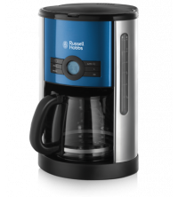 RUSSELL HOBBS CAFETIERE COTTAGE BLUE