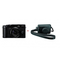 FUJI DIGITAL CAMERA FINEPIX X10 + ETUI  EN CUIR APNFX10P