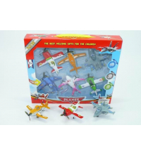 Toys for Kids: 6PCS FREE WHEEL PLANE?PLANES)
