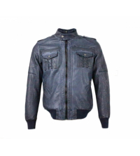 SHERRINGTON: SHERRINGTON Blouson Bleu 001029