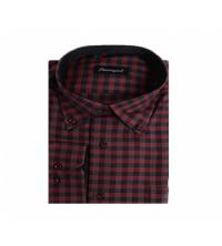 SHERRINGTON: Chemise Rouge/Noir
