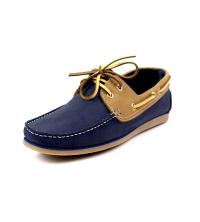 STEVEN.S: STEVEN.S Chaussure Homme Bleu & Beige