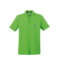 FRUIT OF THE LOOM: FRUIT OF THE LOOM POLO LIME