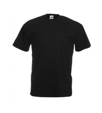 FRUIT OF THE LOOM: FRUIT OF THE LOOM TEE SHIRT NOIR