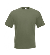 FRUIT OF THE LOOM: FRUIT OF THE LOOM TEE SHIRT OLIVE