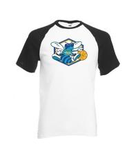 Tee-shirt BaseBall Noir - 061-027-N
