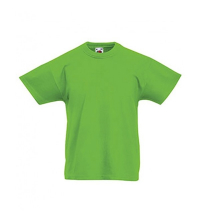 FRUIT OF THE LOOM T-SHIRT JUNIOR LIME
