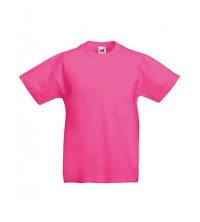 FRUIT OF THE LOOM T-SHIRT JUNIOR ROSE