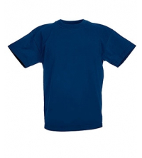 FRUIT OF THE LOOM T-SHIRT JUNIOR BLEU MARINE