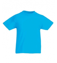 FRUIT OF THE LOOM T-SHIRT JUNIOR AZUR