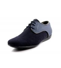 FAMOSO: Chaussure Homme Bleu