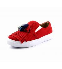 BAZEL: Basket femme rouge