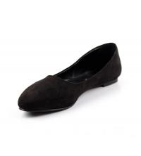 Ballerine femme daim Noir