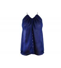 les petites robes: Pull femme Bleu